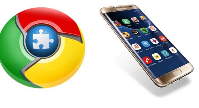 Erweiterungen Chrome Android