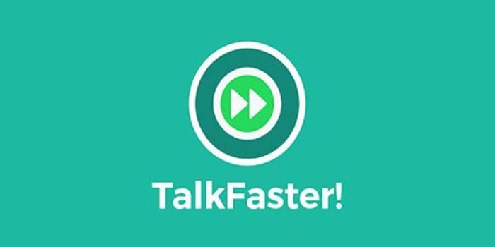 Sprich schneller
