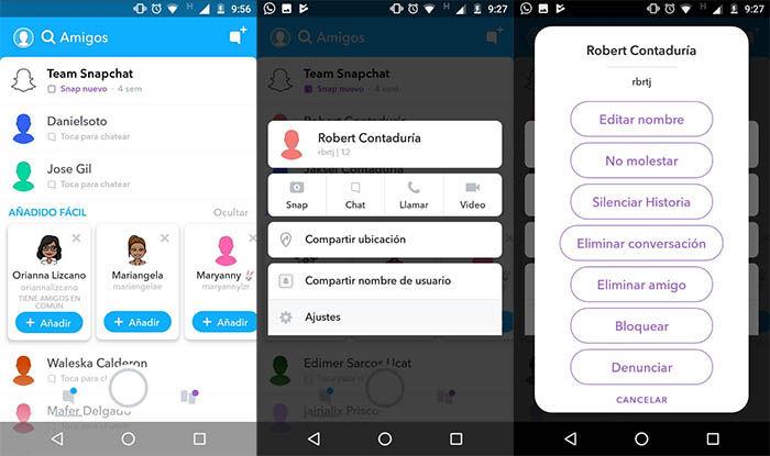 Snapchat Kontakte Finden