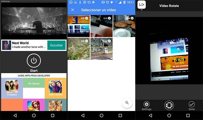 Android Videos Drehen