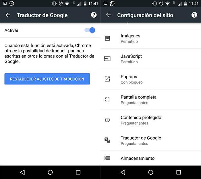 Android Chrome Artikel Für Sie Deaktivieren