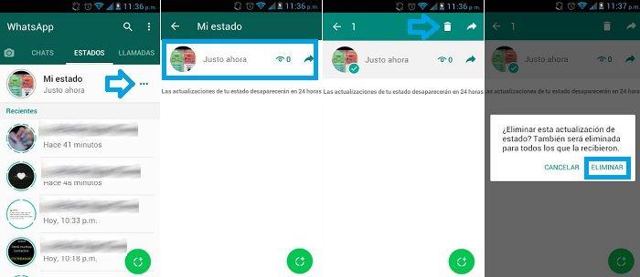 So Löschen Sie Einen Whatsapp Status Schritt Für Schritt