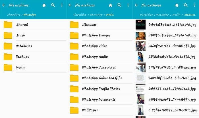 Whatsapp Statusordner Finden Android Deutschland