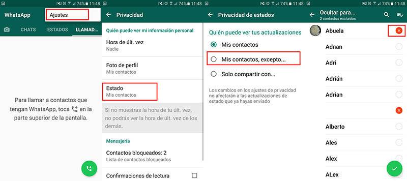 Wie Kann Ich Meinen Whatsapp Status Für Andere Kontakte
