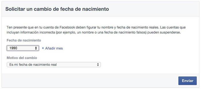 Facebook Geburtsdatum Г¤ndern