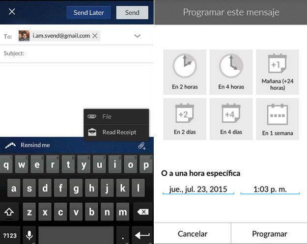 Phishing Mail Auf Android Handy Geöffnet