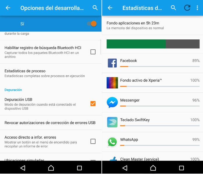 Anwendungen im Hintergrund android lollipop2 stoppen