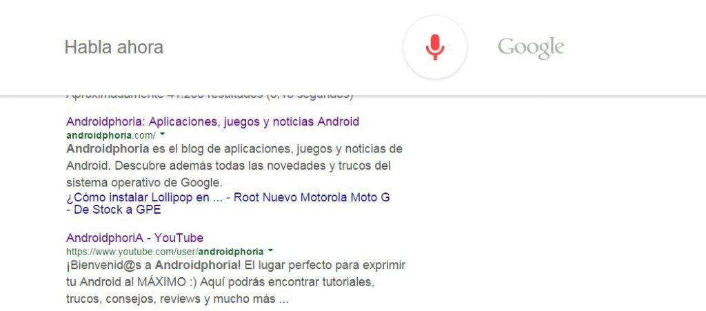 OK Google AndroidPhoria