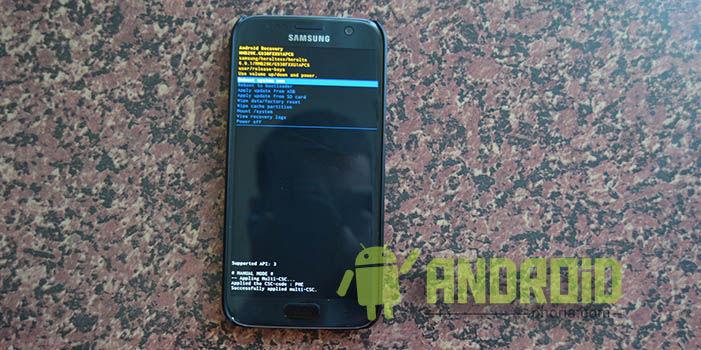 Samsung Galaxy S6 Reset Mit Nadel