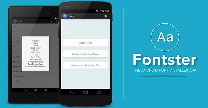 Android 7 Schriftart ändern