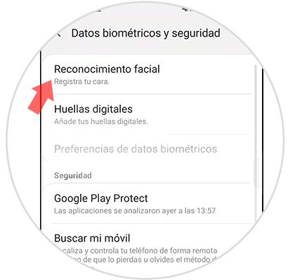 3-How-to-enable-reconcomiendo-facial-en-Galaxy-S10 plus.png
