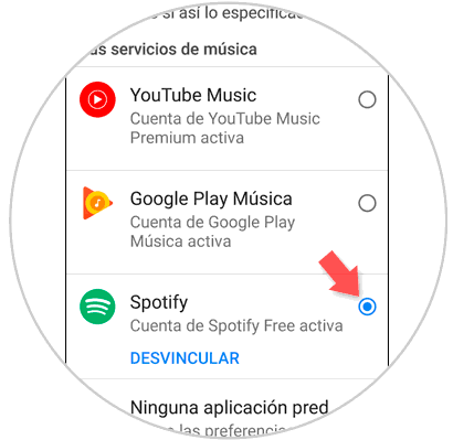 Richten Sie Spotify oder YouTube in Google Home Mini 3.png ein