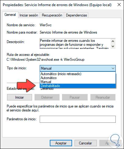 3 -.- Wie-den-Dienst-für-Fehlermeldungen-in-Windows-10-mit-der-Konsole-für-Dienste-deaktivieren.png