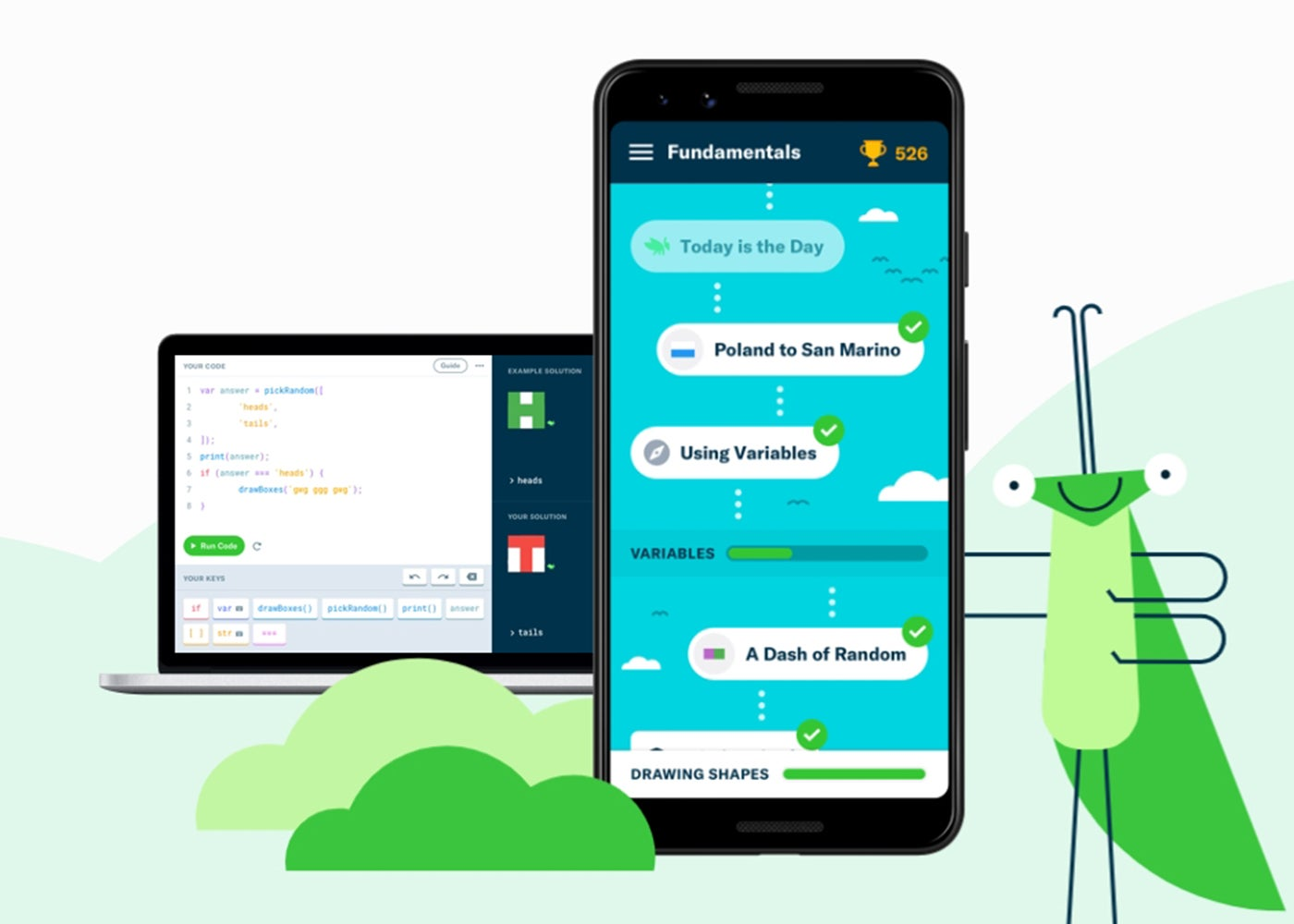 GrassHopper für Android