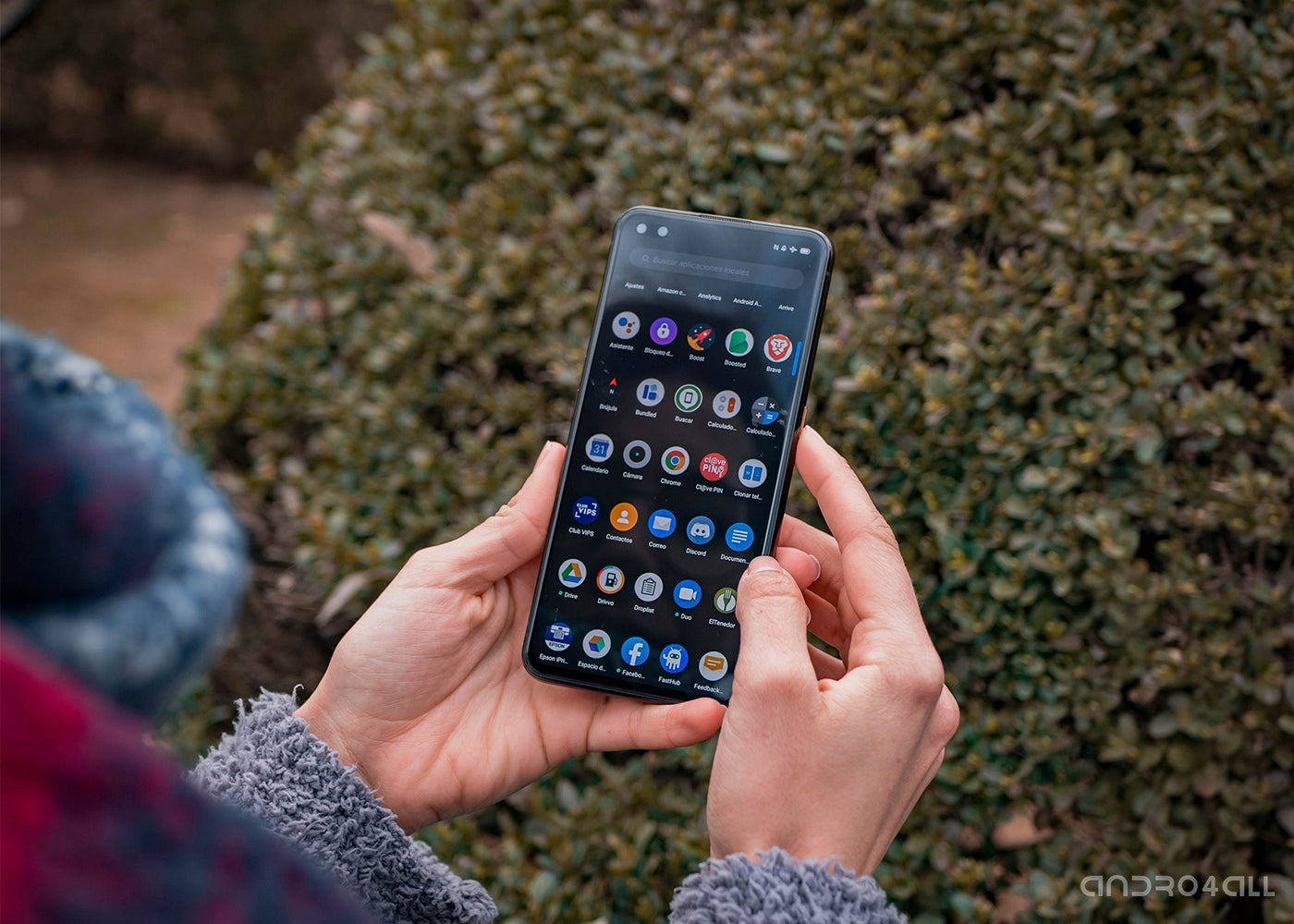 Android-Apps auf dem Realme X50 Pro
