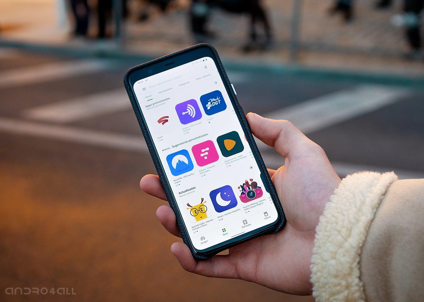 Google Play Store, Apps und Spiele