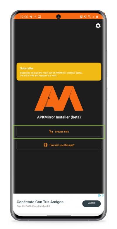Was sind App-Bundles im APKM-Format und wie werden sie auf Android installiert?