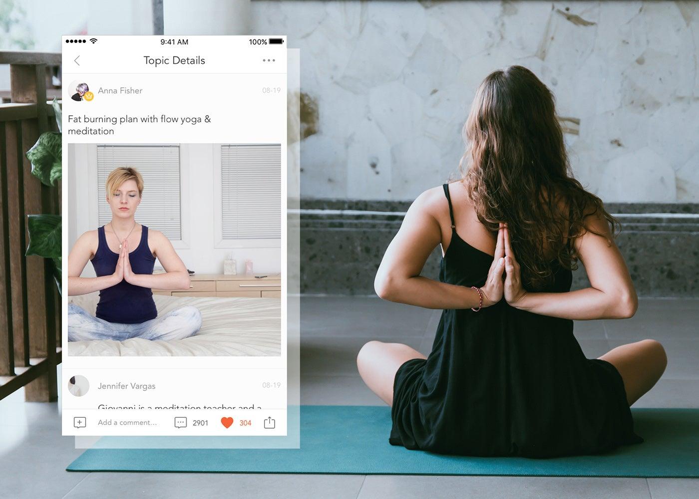 Beste Apps zum Üben von Yoga