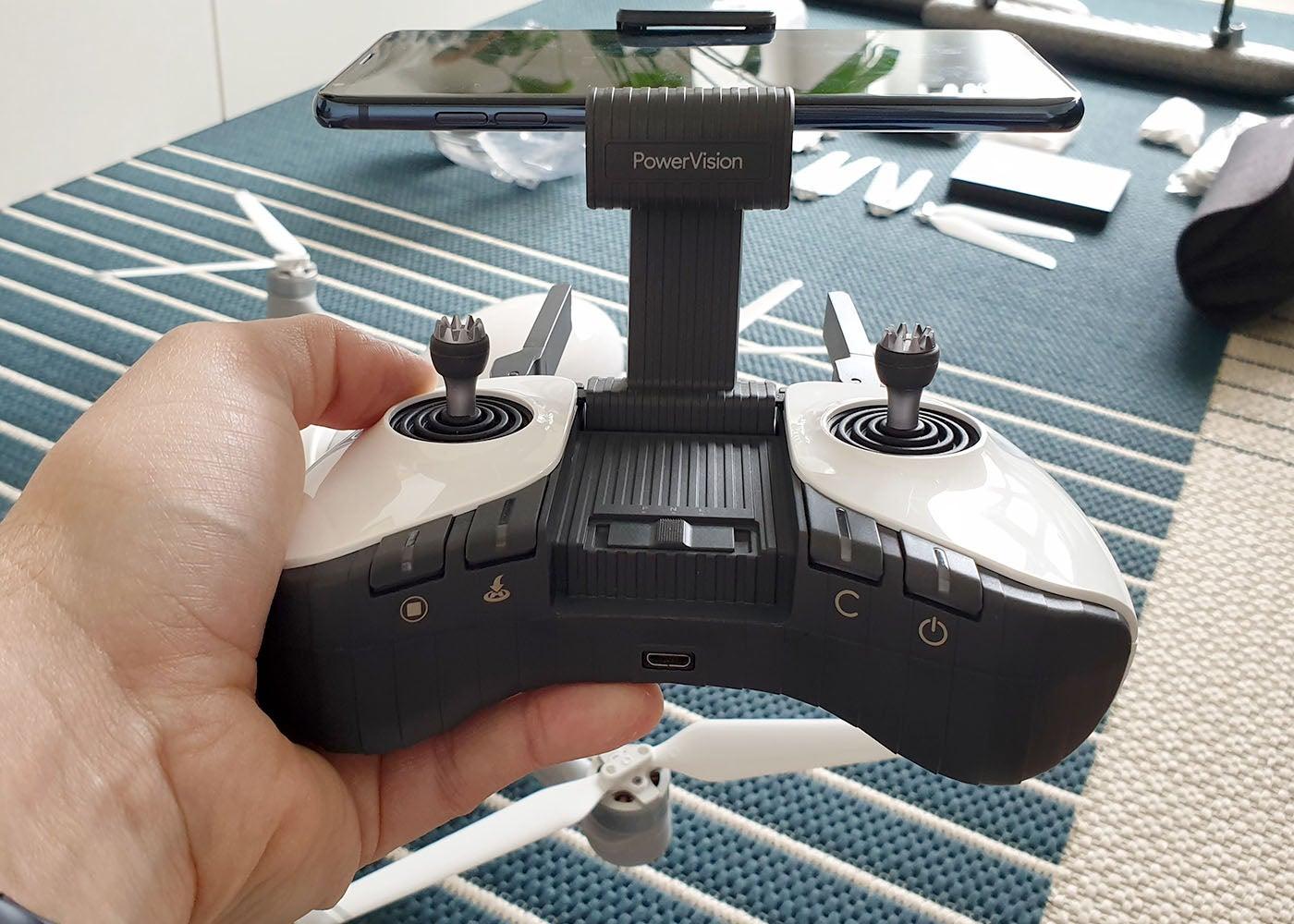 PowerVision PowerEgg X, wir haben die leistungsstarke Drohne getestet, nach der das Ei aussieht