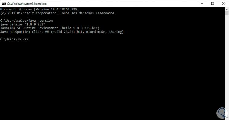 1-Überprüfen Sie die Java-Version in Windows 10.png