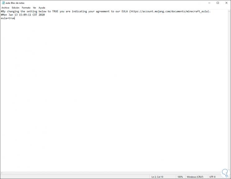 6-Laden Sie die Minecraft-Server-Software herunter und führen Sie sie im System unter Windows 10.png aus