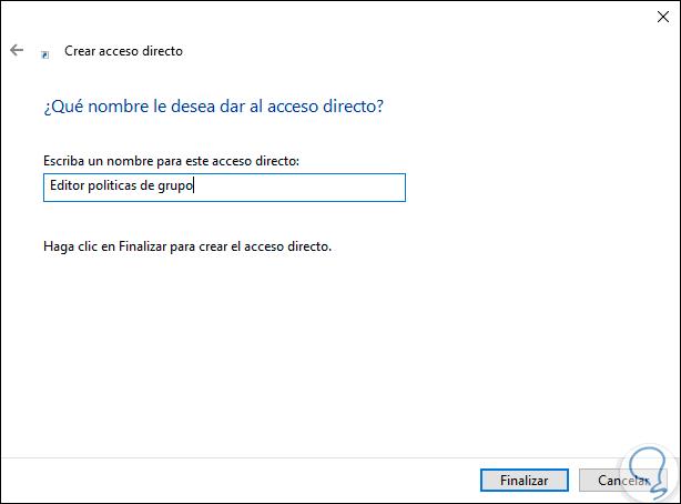 5 Öffnen Sie Gruppenrichtlinien mit der Windows 10.png-Verknüpfung