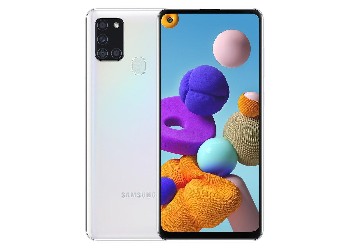 Samsung Galaxy A21s weiß