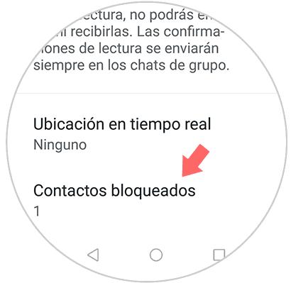 Blockierte Kontakte Whatsapp Status