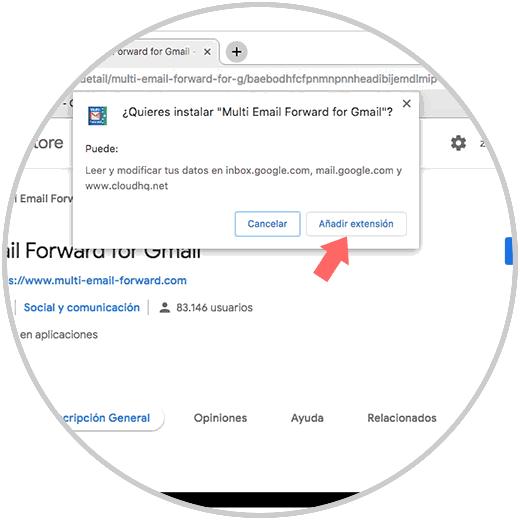 Leiten Sie mehrere E-Mails gleichzeitig in Google Mail-1.png weiter