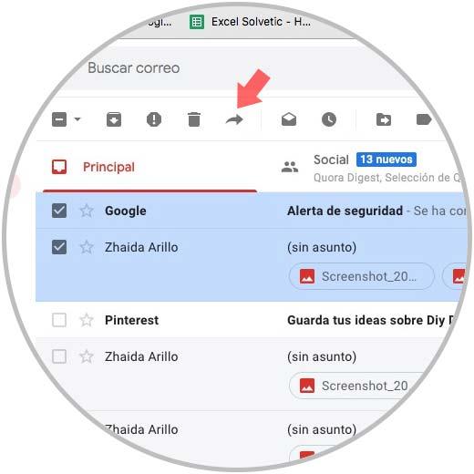 Leiten Sie mehrere E-Mails gleichzeitig in Google Mail-0.jpg weiter